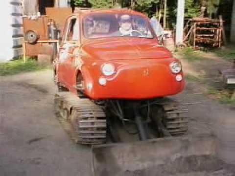 Fiat Cinque Tank