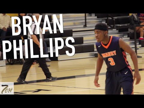 Bryan Phillips (2019) is TOUGH & GETS BUCKETS!!