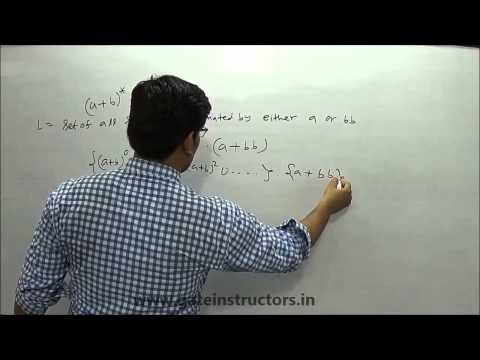 Language Associated with Regular Expression | Regular Expression Language Examples | 064