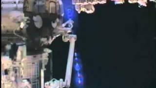 International Space Station weird stuff caught on video