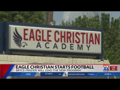 Eagle Christian Academy Starts Football