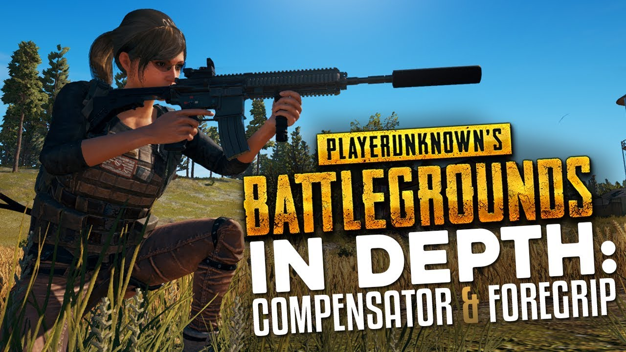 PUBG In Depth: Compensator, Foregrip, Stock (& Every Recoil Attachment)
