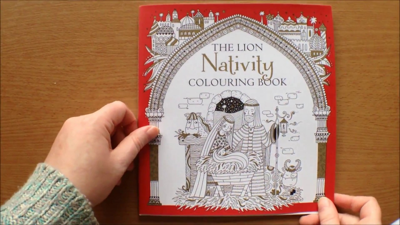 The Lion Nativity Colouring Book by Antonia Jackson and Felicity ...