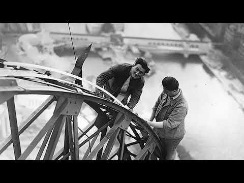 Eiffel Tower Construction 1887-1889 Paris Photos