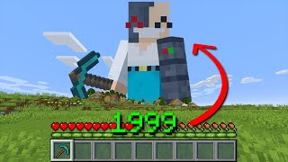 Minecraft, But Your XP = Your Size...
