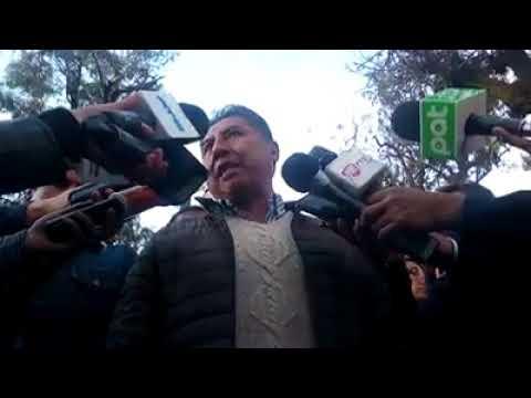 Conferencia de Prensa: Sobre sentencia contra Gonzalo Sánchez de Lozada y Carlos Sanchez Berzaín