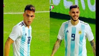 Lautaro Martínez And Mauro Icardi vs Mexico(16/11/2018)Friendly HD 720p by轩旗
