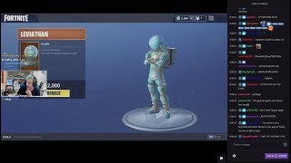 Ninja Reacts To New Leviathan Outfit (Fortnite)