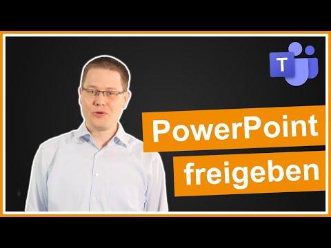 Microsoft Teams: PowerPoint richtig freigeben