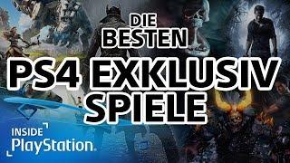Die besten PS4 Exklusiv-Spiele