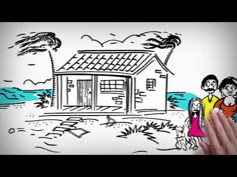 Huracan María Puerto Rico casa se la va techo completo by Wander Manuel