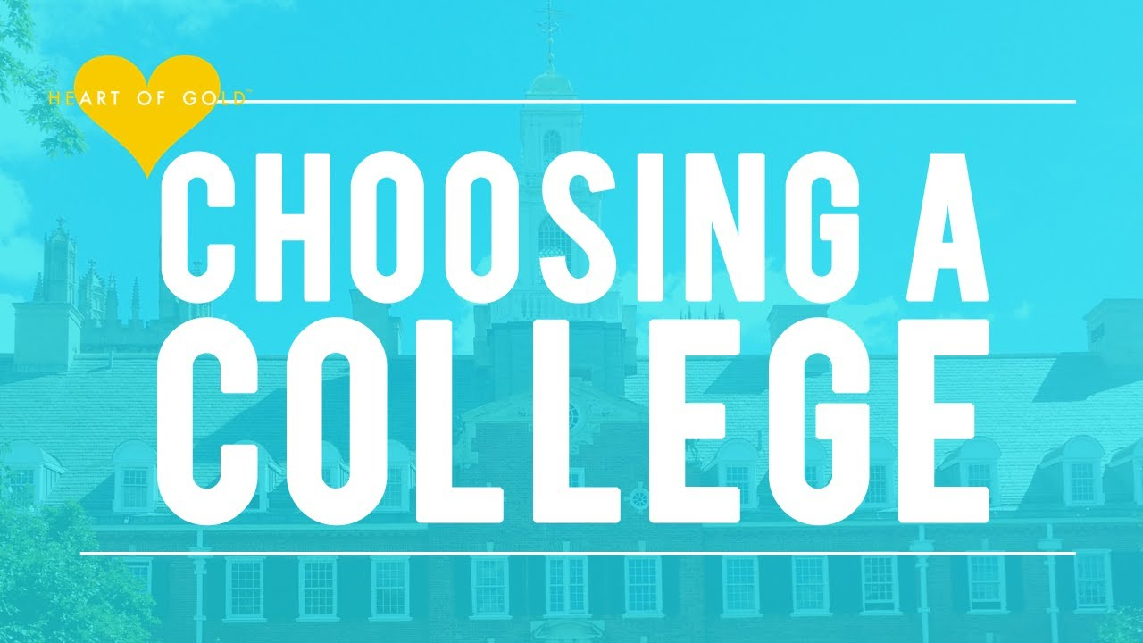 choosing where to go to college or university choosing where to go to college or university