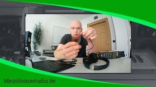 Welchen Kopfhörer brauche ich für mein Homestudio? | MeinHomestudio.de | Home Studio einrichten