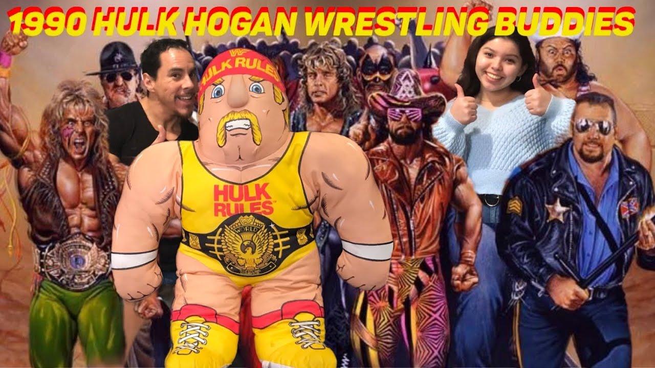 1990 wwf hulk hogan wrestling buddies daddy daughter retro review