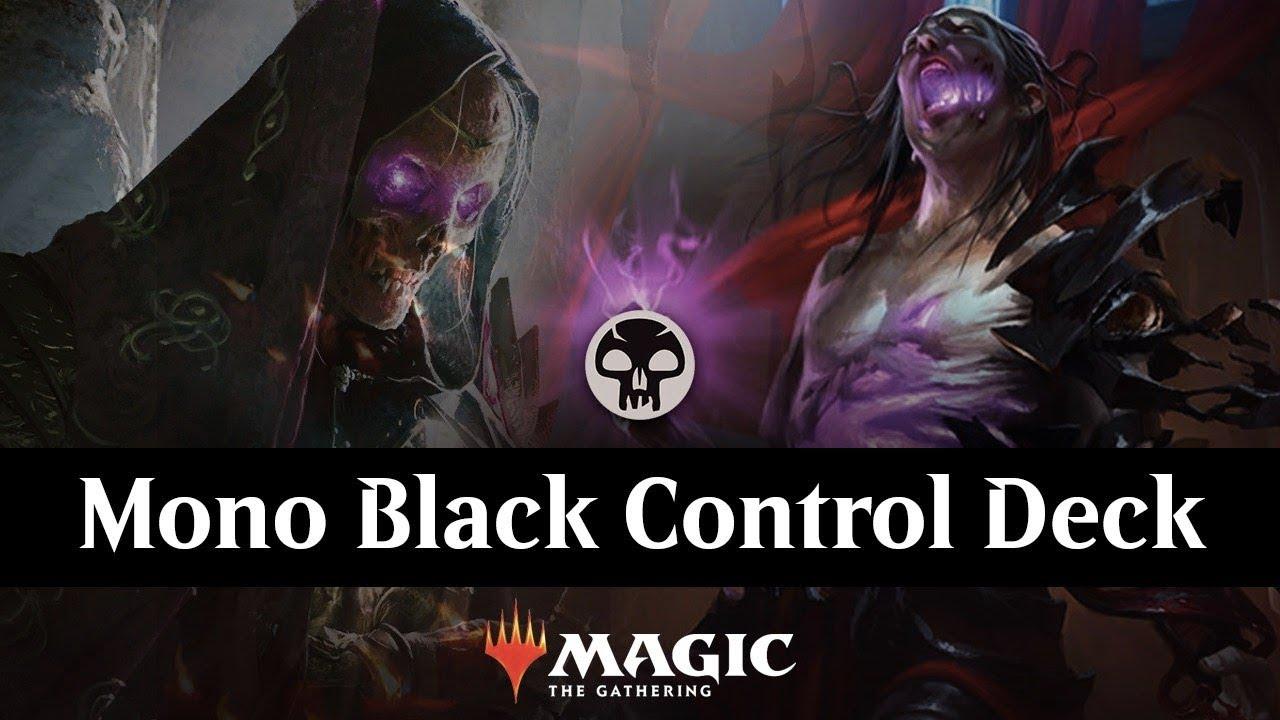 Lich Tribal - Mono Black Control Deck | Fun for Bo1 | MTG Arena