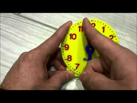 How To Tell Time On An Analog Clock-Full Tutorial