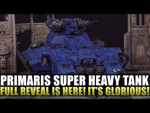 Super Heavy Tank Fully Reveled!