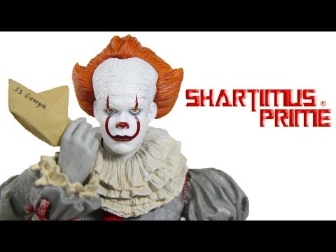 NECA It 2017 Pennywise Movie Broken Action Figure Toy Review