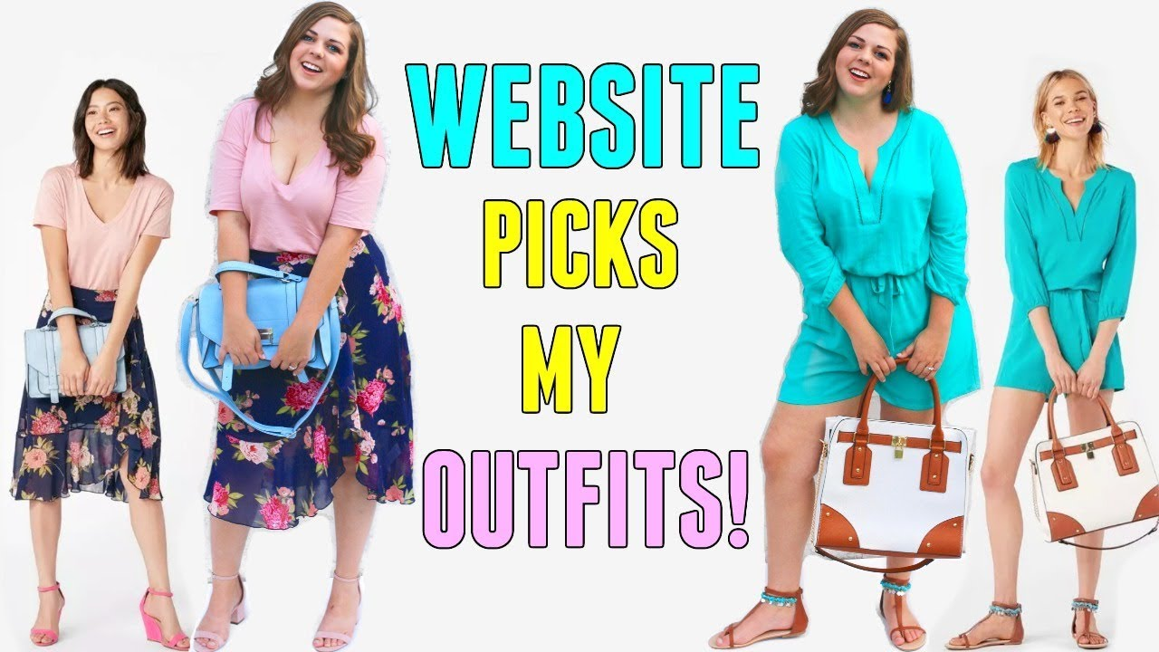 [VIDEO] - I Let a Website Choose My Outfits for a Week! Dress My Curvy Body! 5