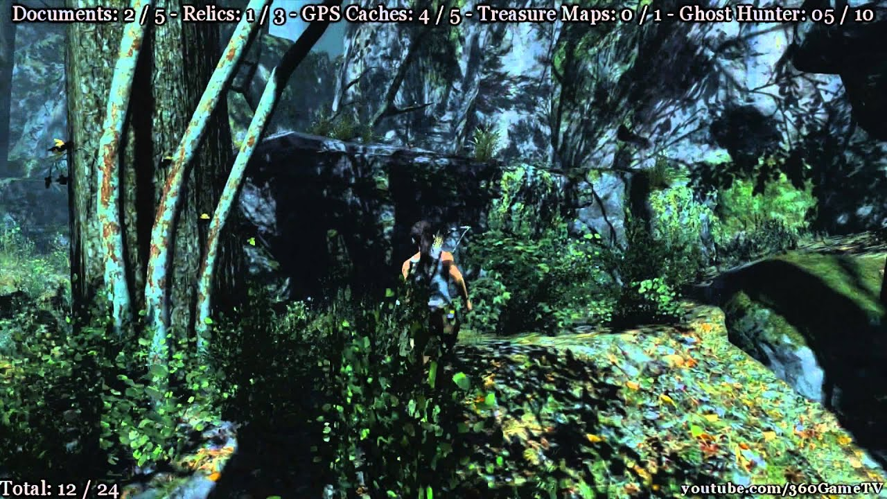 Tomb Raider - Coastal Forest - Ghost Hunter Challenge and All Collectible  Locations