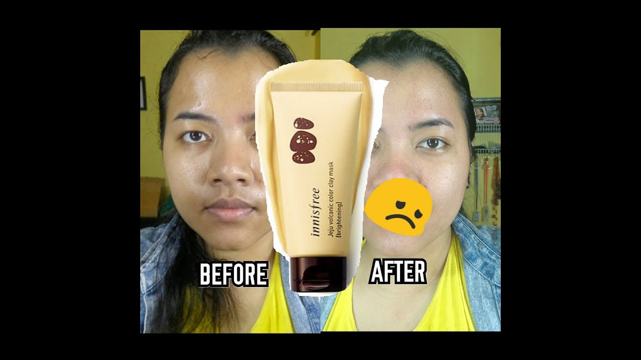 Review Innisfree Color Clay Mask Brightening Darayanza Youtube