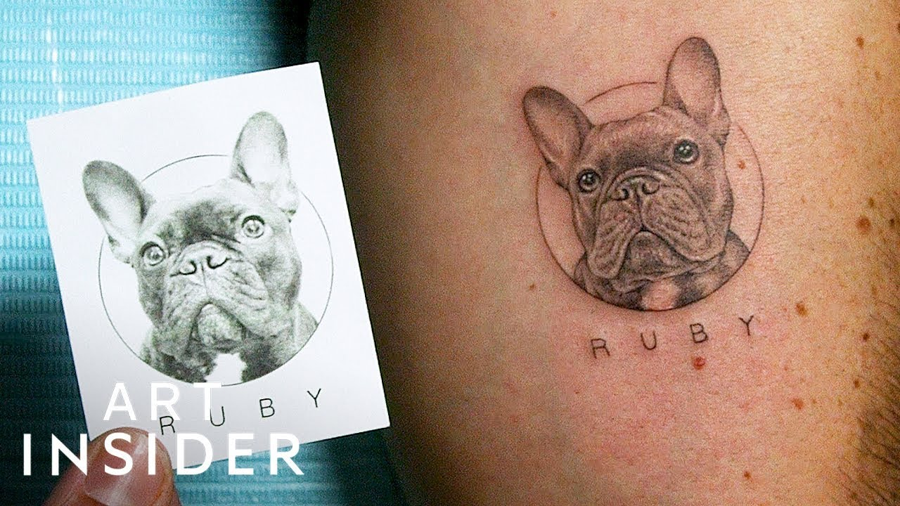Hyperrealistic Pet Tattoos For Animal Lovers