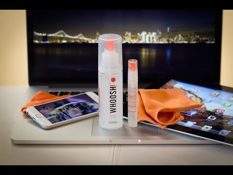 What is the Best Screen Cleaner for your Mac : Whoosh! Review