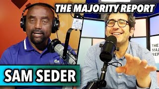 Sam Seder from The Majority Report talks to Jesse Lee Peterson thumbnail