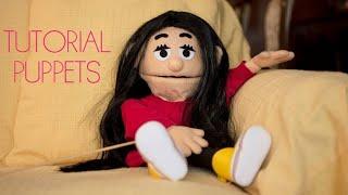 TUTORIAL: cómo hacer puppets (títeres) fácil con patrones