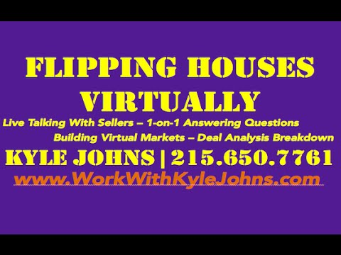 Talking with Motivated Sellers: Flipping Houses Virtually