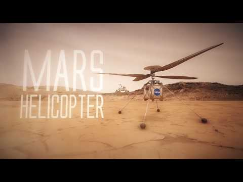 NASA will send a tiny drone helicopter to fly through the Martian skies