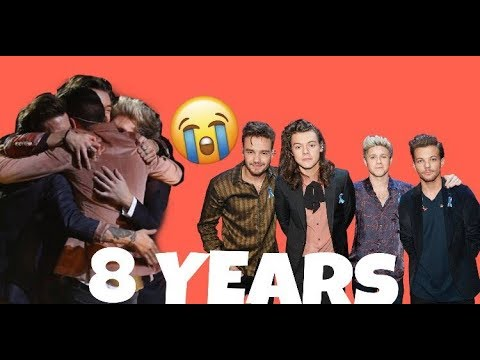 One Direction 2017-2018 moments || 8 YEARS ANNIVERSARY