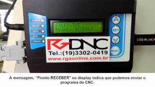 Receber programa no RGDNC P COMANDO SIEMENS