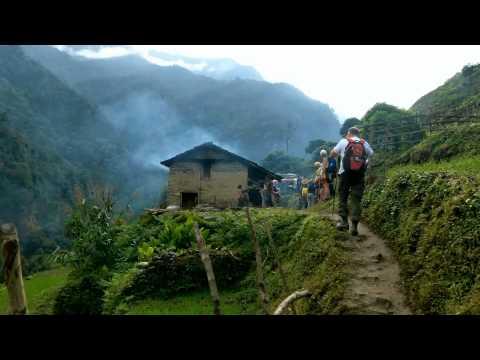 Trekking in Himalaya Nepal