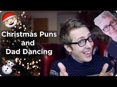 CHRISTMAS PUNS AND DAD DANCING! | Evan Edinger