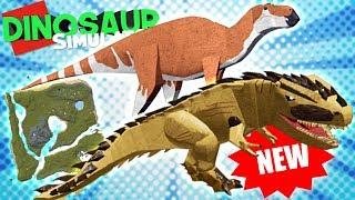 Gambar cover Dinosaur Simulator News - NOVO MAPA! Apatosaurus Remodel, New Domitor Rex | New Update