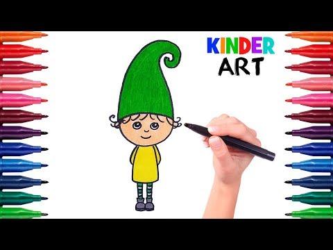 Как нарисовать гномов