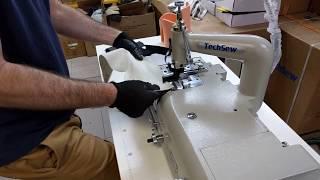 Techsew SK-4 Skiving Machine Sample MB