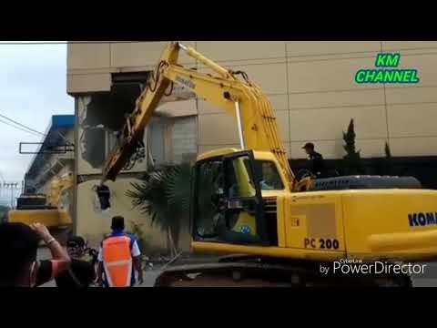 TERBARUU!!!! Eksekusi tanah milik PJKA dibagian belakang BASKO (18/1)