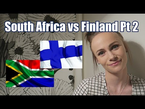 South Africa versus Finland Part 2 | The Finland Diaries | Episode 7