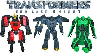 Transformers the Last Knight Legion Class Wave 2 Collection Megatron Autobot Drift Crosshairs