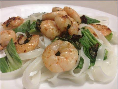 Szechuan Prawns Low Fat Recipe