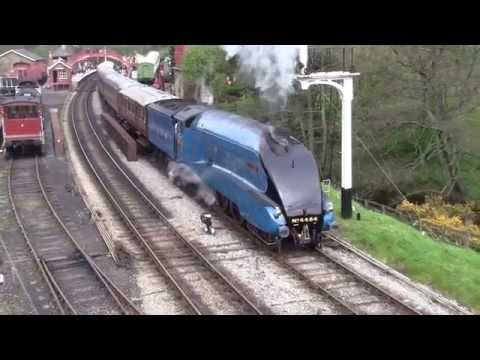 North Yorkshire Moors Railway - Spring Steam Gala 2014 - Goathland Station
