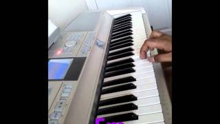 Download Hindi Video Songs - Anal mele (Vaaranam Aayiram) on Keyboard with CHORDS