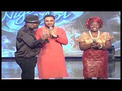 Tripple E performance by #NI4 contestants alongside Nigeria's Living Legends