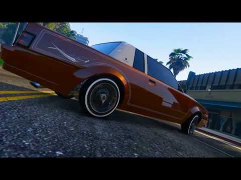 GTA V Ganksta C - 3 Wheel Motion