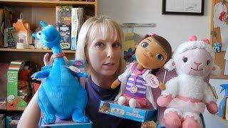 Doc McStuffins Talking Plush - Doc, Stuffy, and Lambie