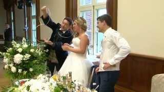 Свадьба,усадьба  Царицыно видео от Алексея Белобородова