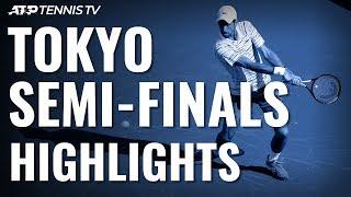 Djokovic Makes 110th ATP Final, Will Face Millman | Tokyo 2019 Semi-Final Highlights
