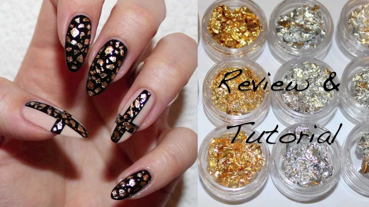 Bornprettystore Com Review And Nail Tutorial Nail Foils
